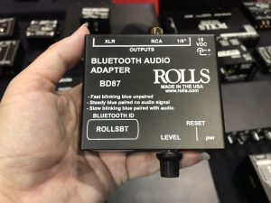 BD87 Bluetooth Audio Adapter by Rolls